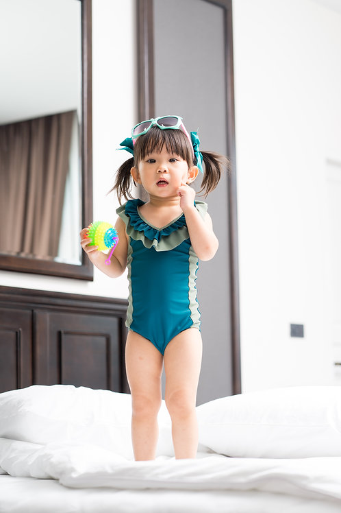 Coral one piece | Kids | Ocean