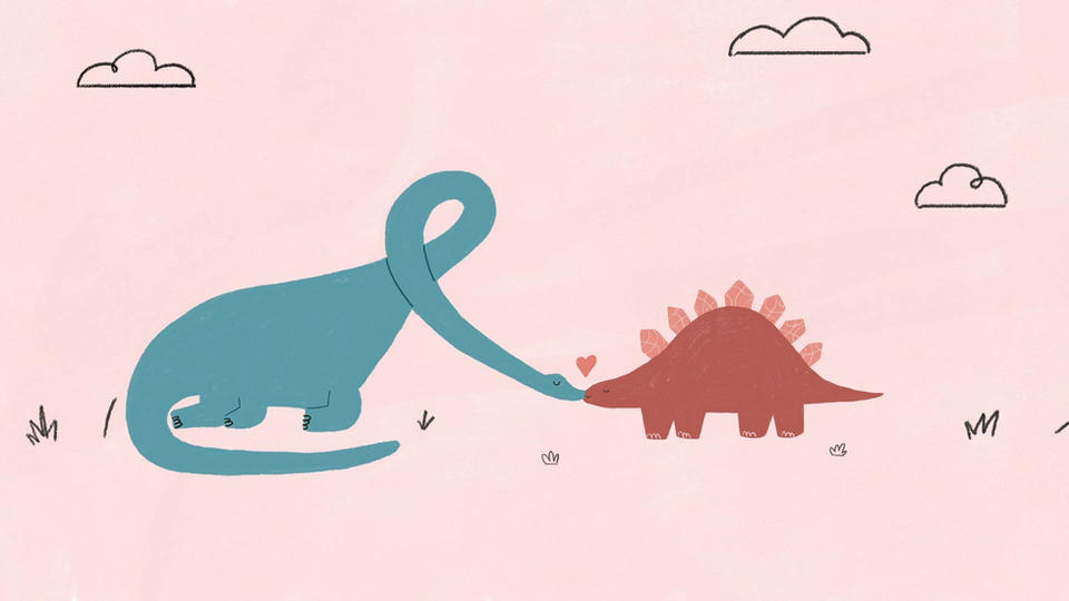 DINOSUARS IN LOVE