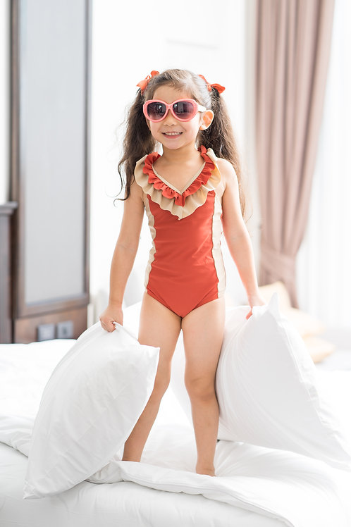 Coral one piece | Kids | Sands