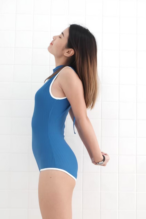 Tropical One Piece | Woman | Flax