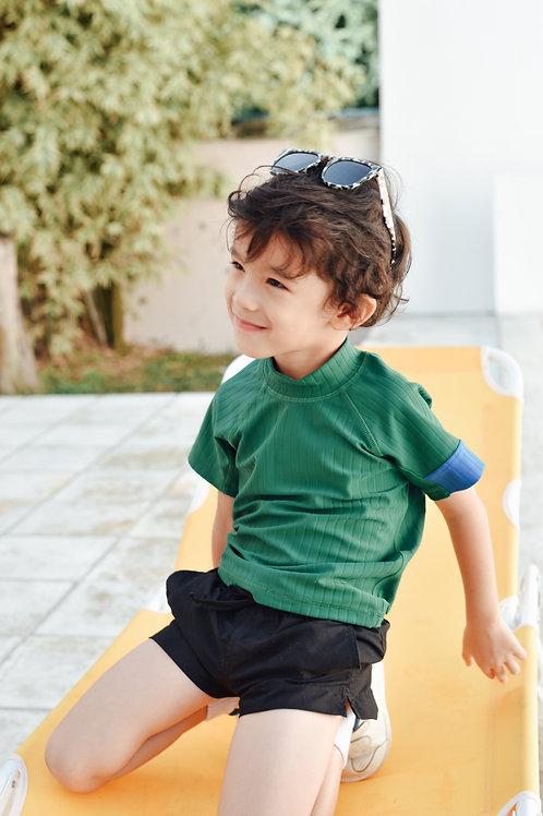 Tropical Rashguard | Boy | Pine