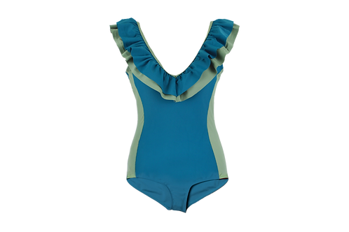 Coral one piece | Adult | Ocean