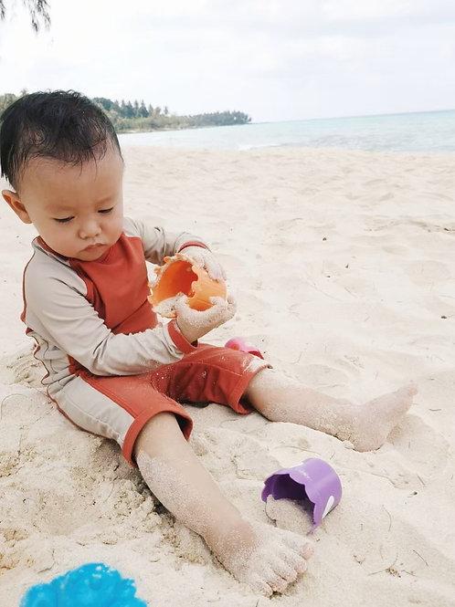 Coral Romper | Kids | Sands