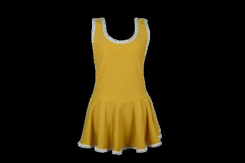 Yellow Dress Suit