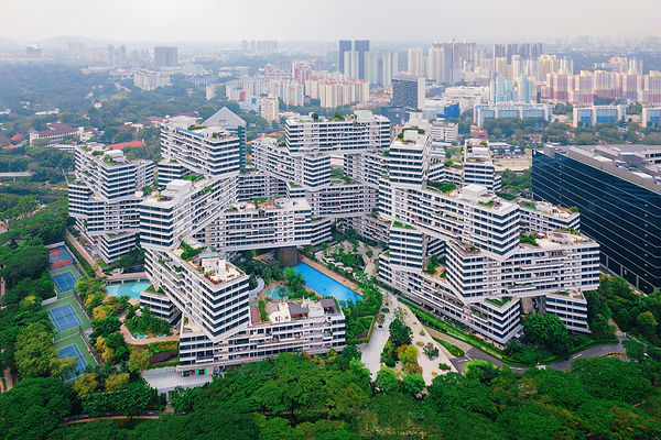 The Interlace apartments in Singapore ci