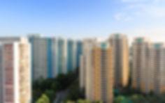 Singapore high density  residential buil