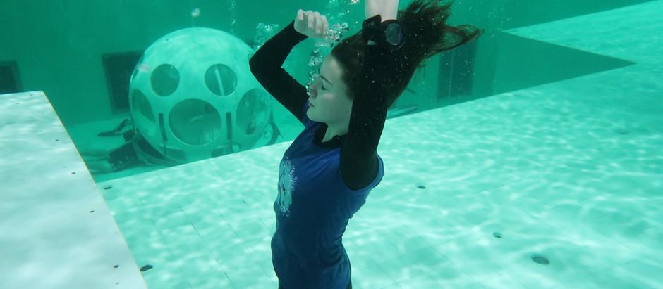 Nemo 33, Confined Dive Site Warm Water diving Brussels Belgium