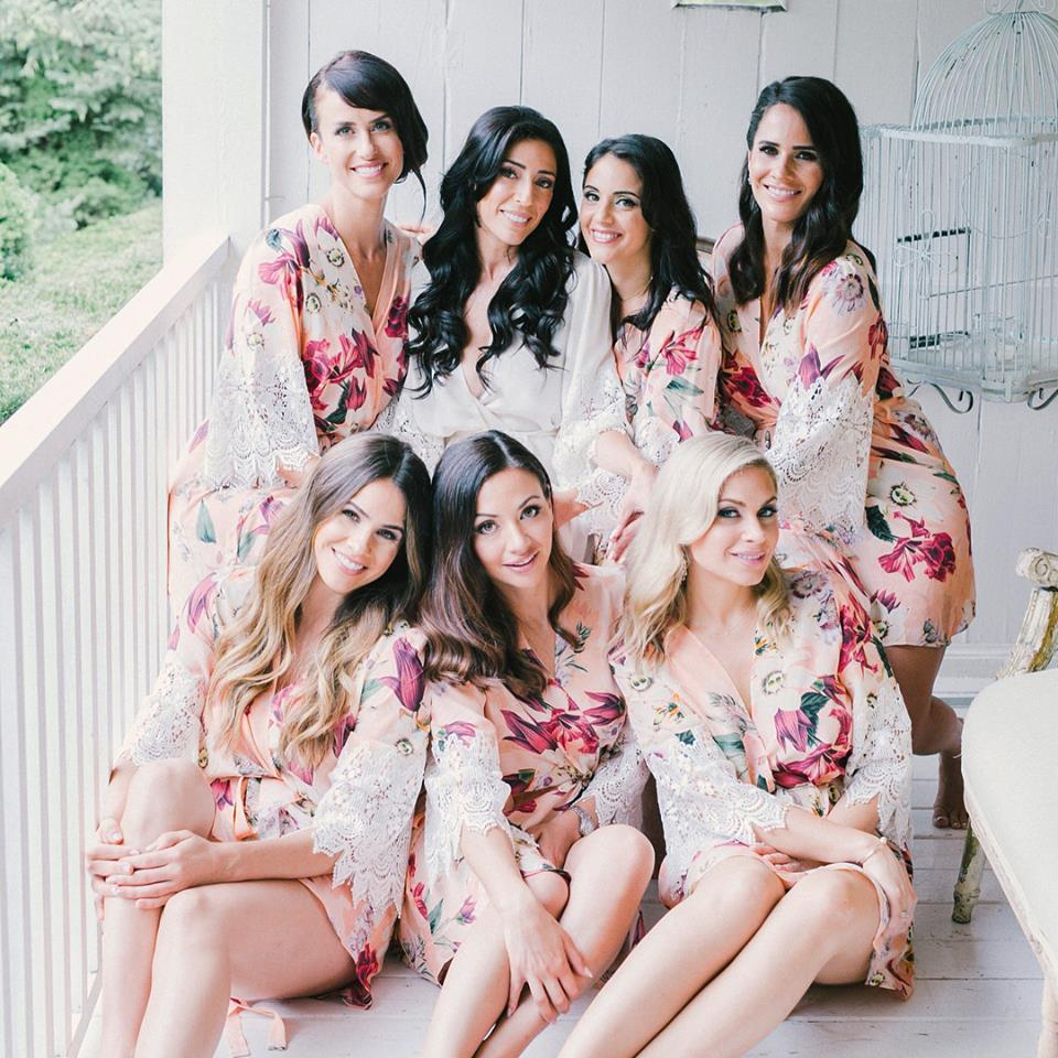 Tamanna and her bridesmaids