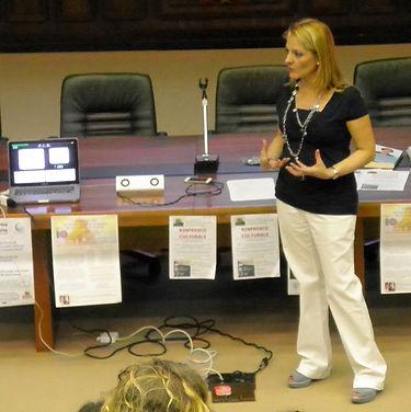 Psicologa Sonia Turrin relatrice