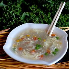 GF Chicken Corn Soup