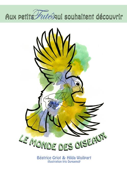 E-book pour les enfants - Le monde des Oiseaux