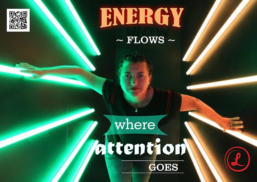 Energie flows where attention goes, Lustkreis, Céline Olivier