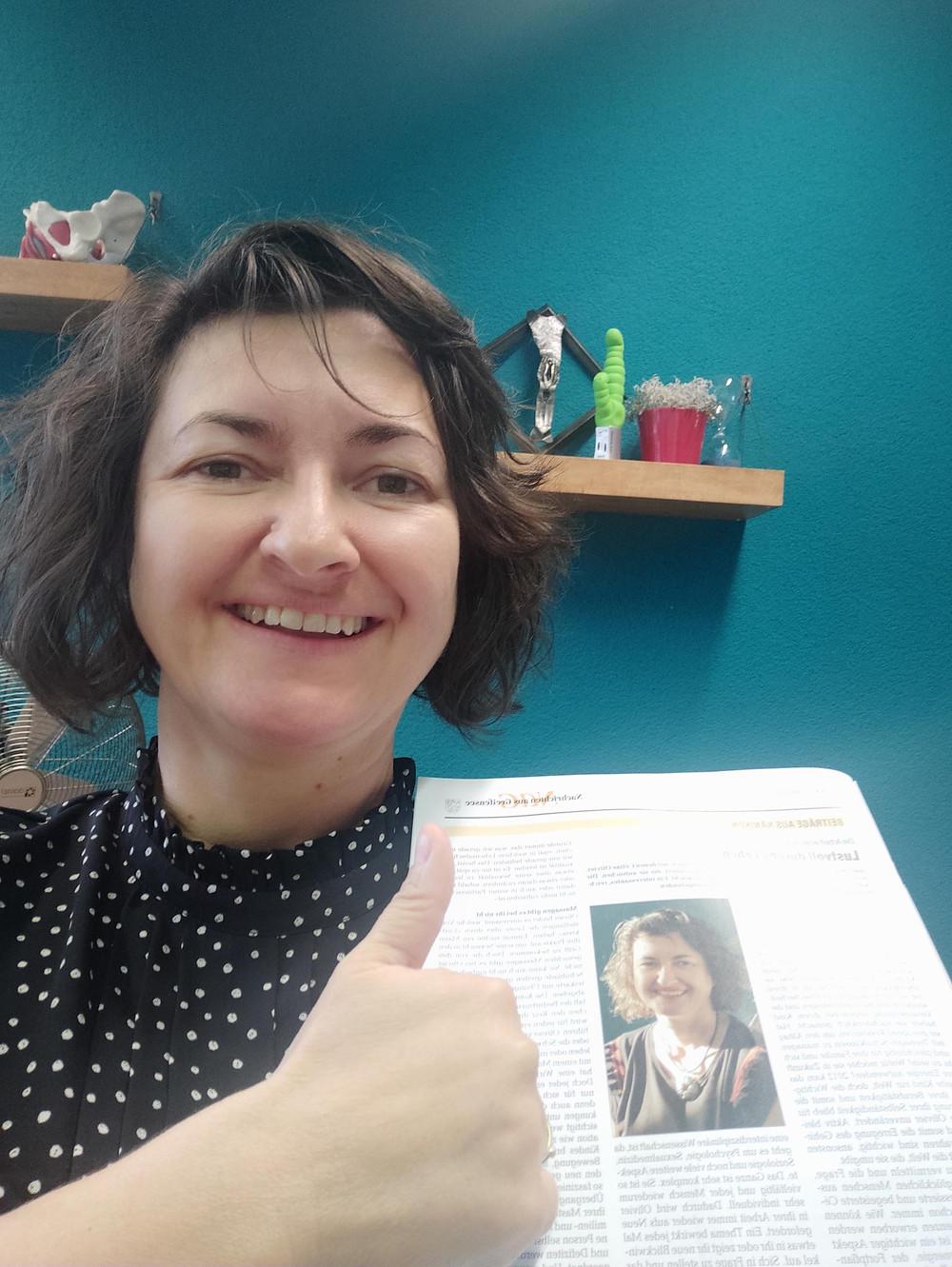 Céline Olivier, Sexologin M.A. bei Lustkreis erzählt von ihrem Beruf und die Grundbausteine der Sexologie
