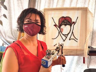 "Atelier de ""tufting"" avec Talaya Schmid"