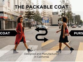 [디자인] 봄코트 추천! 가방으로 변형 가능한 코트 Orimei