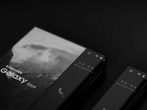 [가젯] 미래 지향적 디자인의 삼성전자 휴대폰, 롤러블 휴대폰