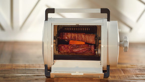 Grillr: Time-Efficient & Portable Rotisserie Style Cooking