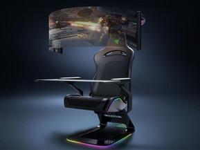 [테크] CES 2021 특집: 게이밍 의자에 180도 커브드 모니터가?!