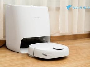 [테크] 스스로 청소 + 스스로 걸레 빨기까지 가능한 로봇청소기 나르월, Narwal