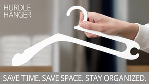 HURDLE HANGER   Designed to Organize Your Closet in a Snap