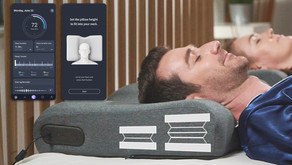 ZEREMA: The Auto-Height Adjusting Pillow With AI Powered App