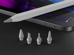 [가젯] 미래의 애플 펜슬? 붓, 끌 등 다양한 펜촉으로 교체도 가능하대요!