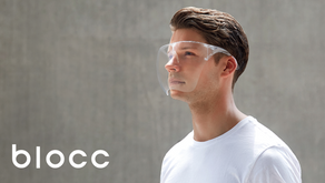 Blocc : Face Shield Designed for Style & Protection