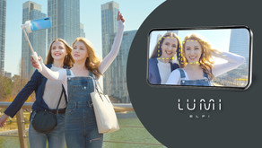 LUMI: Intuitive Selfie Grip With Auto Face Tracking