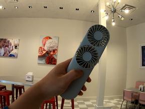 [디자인] 두 개의 팬으로 더욱 강력한 휴대용 선풍기, 트윈팬 l TWIN FAN