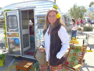 Vintage trailers in Palm Springs
