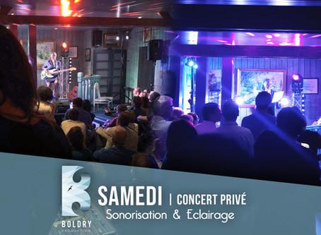 Sonorisation, eclairage | concert privé