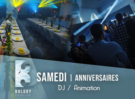 Animation, DJ, photobooth | Anniversaires