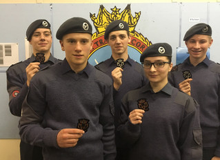 Cadet Success In CompletingTheir DofE Awards