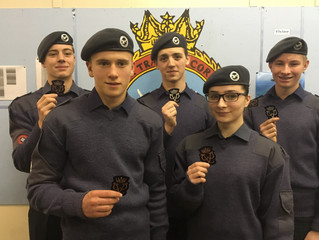 Cadet Success In Completing Their DofE Awards
