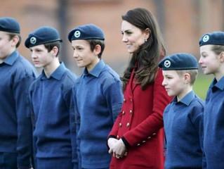 Flitwick Air Cadets Meet Duchess of Cambridge