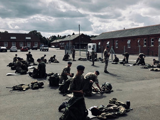Cadets Go On Exercise To Folkestone