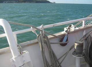 Air Cadet Sets Sail Aboard the TS Royalist