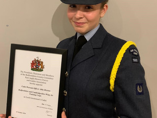 HM Lord-Lieutenant's Cadet for Bedfordshire