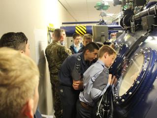 Cadets Visit Centre Of Aviation Medicine