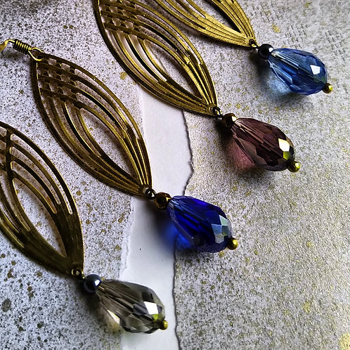 Gothic Arch earrings.