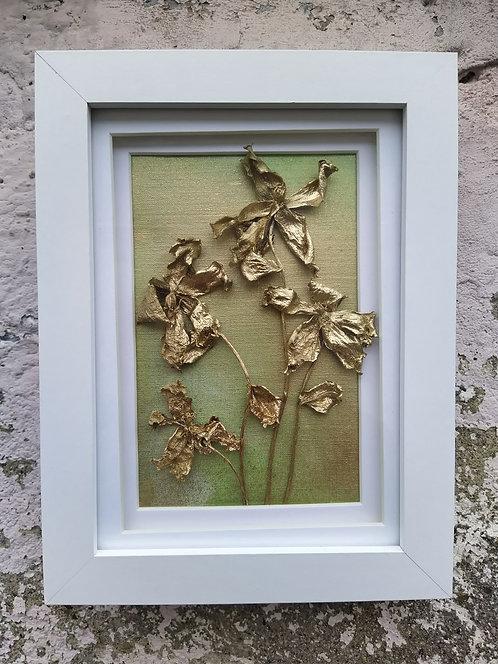Flowers. Framed botanical art