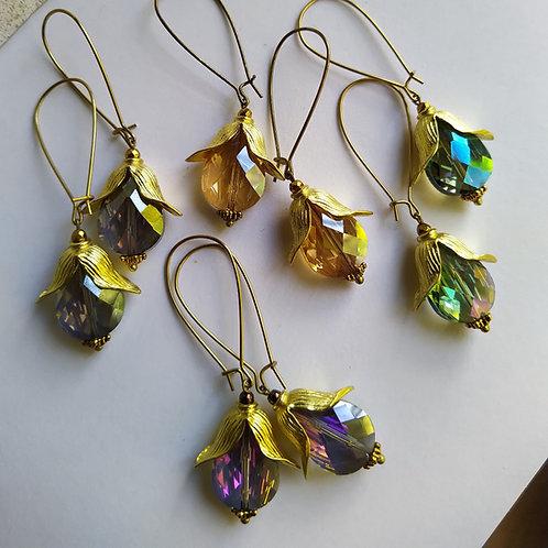 Tulip earrings.