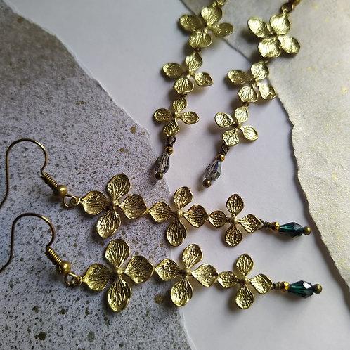 Garland earrings.