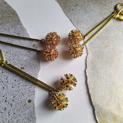 Allium earrings.