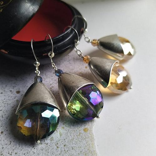 Full Moon earrings.