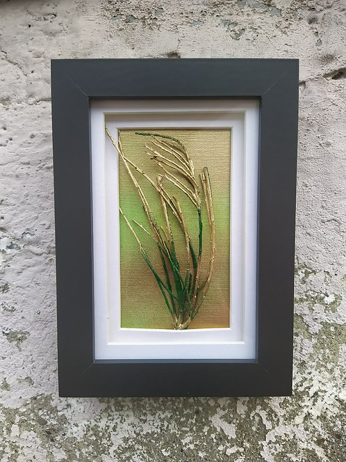 Wind in the Trees II. Framed botanical art