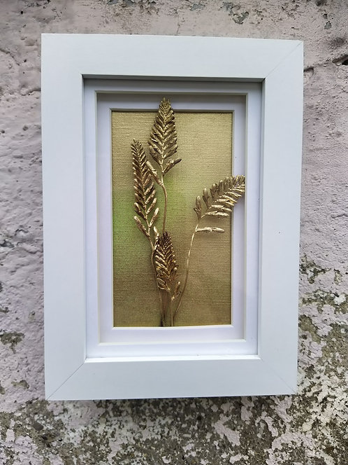 Crocosmia. Framed botanical art