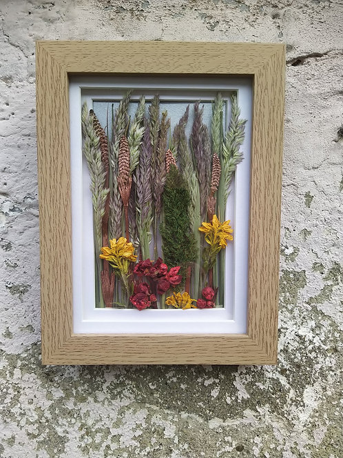 Forest of the Fairies II. Framed botanical Art