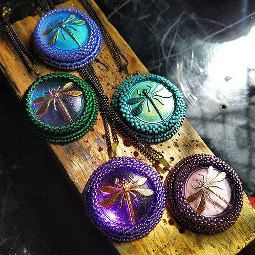 Dragonfly pendant.