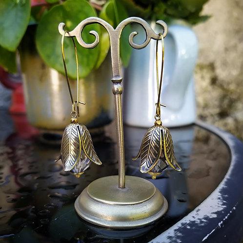 Bellflower earrings.